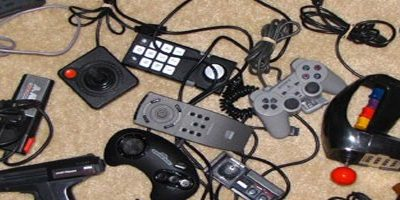 Videogame controllers zijn allemaal hetzelfde
